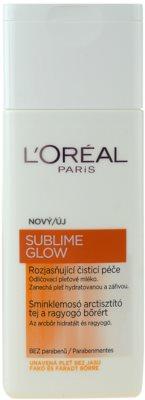 L'Oréal Paris Sublime Glow odličovací mléko