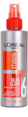 L'Oréal Paris Studio Line Silk&Gloss Curl Power pršilo za oblikovanje valovitih las