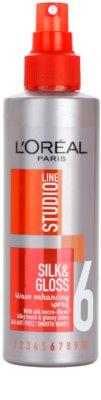 L'Oréal Paris Studio Line Silk&Gloss Curl Power pršilo za oblikovanje valovitih las 1