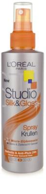 L'Oréal Paris Studio Line Silk&Gloss Curl Power pršilo za oblikovanje valovitih las 2