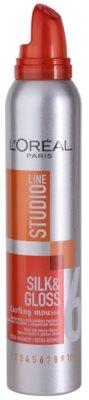 L'Oréal Paris Studio Line Silk&Gloss Curl Power spuma pentru formarea buclelor 1
