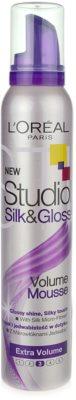 L'Oréal Paris Studio Line Silk&Gloss Volume Schaum für Volumen und Glanz