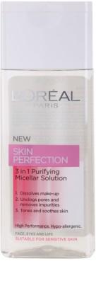 L'Oréal Paris Skin Perfection agua micelar limpiadora 3 en 1