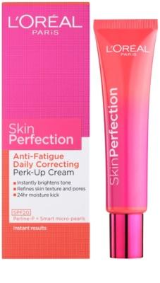 L'Oréal Paris Skin Perfection aufhellende Crem für müde Haut 1