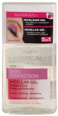 L'Oréal Paris Skin Perfection gel micelar  para ojos sensibles