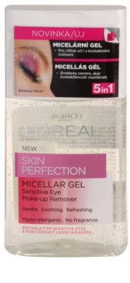 L'Oréal Paris Skin Perfection micelární gel pro citlivé oči