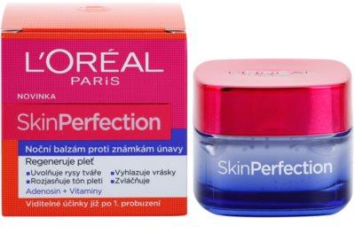 L'Oréal Paris Skin Perfection нічний бальзам проти ознак втоми 2