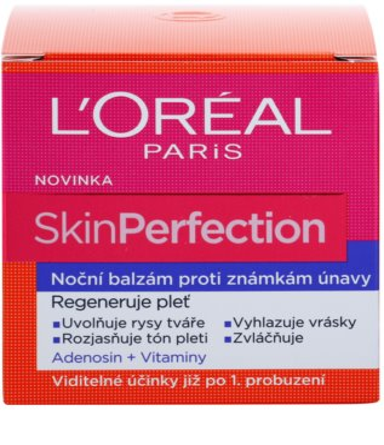 L'Oréal Paris Skin Perfection нічний бальзам проти ознак втоми 3