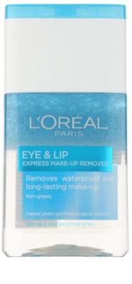 L'Oréal Paris Skin Perfection kétfázisú sminklemosó a szem köré és a szájra