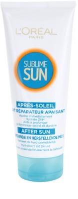 L'Oréal Paris Sublime Sun pomirjajoči losjon za po sončenju