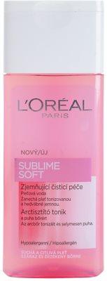 L'Oréal Paris Sublime Soft bőrtisztító víz az érzékeny száraz bőrre