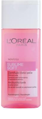 L'Oréal Paris Sublime Soft тонізуюча вода для обличчя для чутливої сухої шкіри