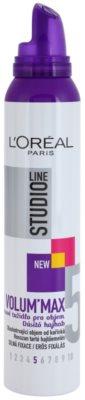 L'Oréal Paris Studio Line Volum´ Max fixáló hab dús hatásért 1