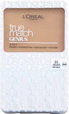 L'Oréal Paris True Match Genius kompaktni puder 4 v 1