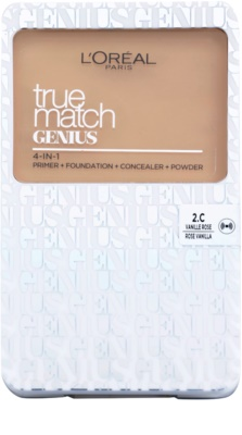 L'Oréal Paris True Match Genius maquillaje compacto 4 en 1