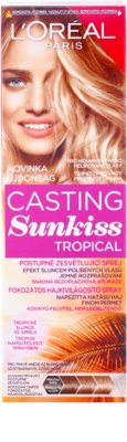 L'Oréal Paris Casting Sunkiss Tropical spray para aclarar o cabelo natural 2