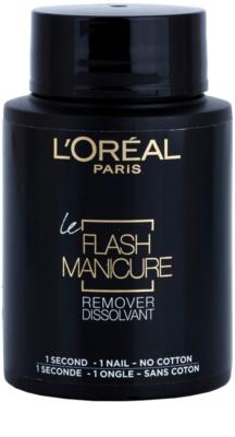 L'Oréal Paris Flash Manicure Remover acetona pentru unghii