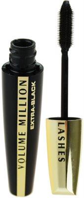 L'Oréal Paris Volume Million Lashes Extra Black Mascara für längere und dichtere Wimpern