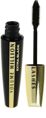 L'Oréal Paris Volume Million Lashes Extra Black підкручуюча подовжуюча туш для вій