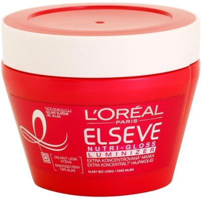 L'Oréal Paris Elseve Nutri-Gloss Luminizer nährende Haarmaske für höheren Glanz