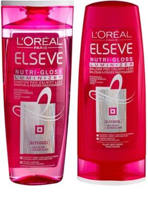 L'Oréal Paris Elseve Nutri-Gloss Luminizer козметичен пакет  I.