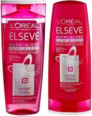 L'Oréal Paris Elseve Nutri-Gloss Luminizer zestaw kosmetyków I.