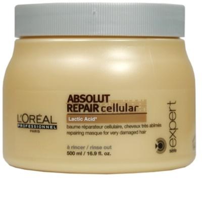 L'Oréal Professionnel Série Expert Absolut Repair Cellular regeneráló maszk száraz és sérült hajra