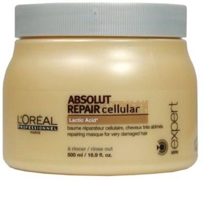 L'Oréal Professionnel Série Expert Absolut Repair Cellular регенерираща маска  за суха и увредена коса