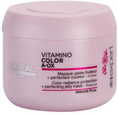 L'Oréal Professionnel Série Expert Vitamino Color AOX mascarilla regeneradora para cabello teñido
