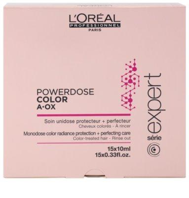 L'Oréal Professionnel Série Expert Vitamino Color AOX intenzív kúra a festett és károsult hajra 2