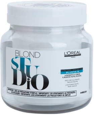 L'Oréal Professionnel Blond Studio Platinium coloração para aclarear o cabelo sem amoníaco
