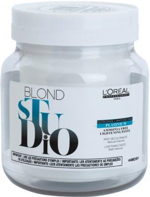 L'Oréal Professionnel Blond Studio Platinium világosító paszta ammónia nélkül