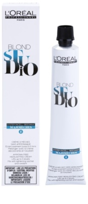 L'Oréal Professionnel Blond Studio Majimeches 1 crema aclaradora sin amoníaco