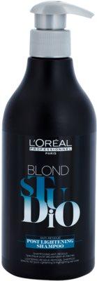 L'Oréal Professionnel Blond Studio Post Lightening Champô para  mechas de cabelo e aclarareamento