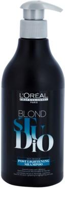 L'Oréal Professionnel Blond Studio Post Lightening sampon hajvilágosítás és melírozás után