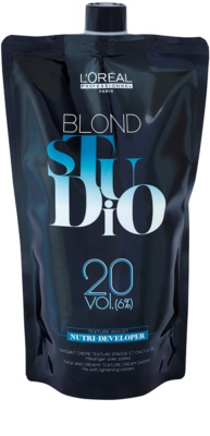 L'Oréal Professionnel Blond Studio Nutri Developer emulsie activatoare 6% 20 vol.