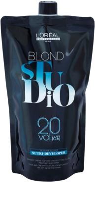 L'Oréal Professionnel Blond Studio Nutri Developer emulsión activadora  6 % 20 Vol.