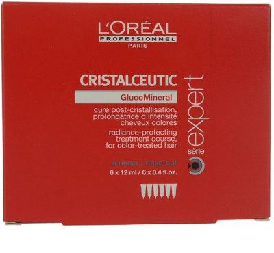 L'Oréal Professionnel Série Expert Cristalceutic zaščitna kura za barvane lase 1