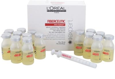 L'Oréal Professionnel Série Expert Fiberceutic serum za poškodovane in kemično obdelane lase