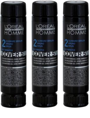 L'Oréal Professionnel Homme Color barva za lase 3 kos
