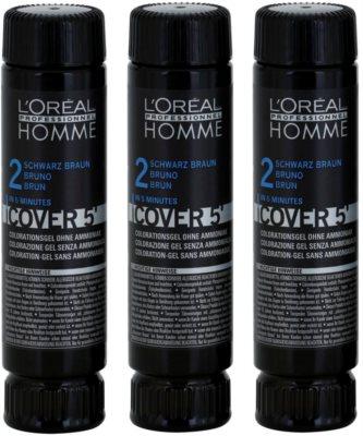 L'Oréal Professionnel Homme Color coloração de cabelo 3 pçs