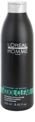 L'Oréal Professionnel Homme Care szampon przywracający zdrową skórę głowy