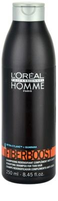L'Oréal Professionnel Homme Care шампунь для тонкого та пошкодженного волосся