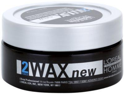 L'Oréal Professionnel Homme Styling vosk na vlasy lehké zpevnění