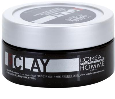 L'Oréal Professionnel Homme Styling pasta moldeadora fijación fuerte