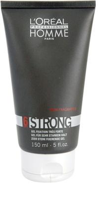 L'Oréal Professionnel Homme Styling gel de cabelo fixação extra forte