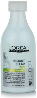 L'Oréal Professionnel Série Expert Instant Clear champú anticaspa para el cabello normal hasta graso