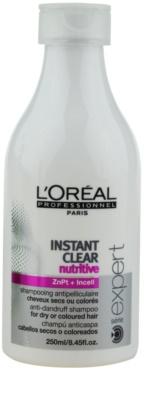 L'Oréal Professionnel Série Expert Instant Clear champú anticaspa para cabello seco y teñido