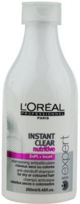 L'Oréal Professionnel Série Expert Instant Clear šampon proti prhljaju za suhe in barvane lase