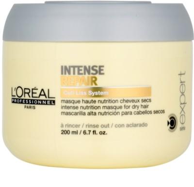 L'Oréal Professionnel Série Expert Intense Repair регенерираща маска  за суха коса, изтощена коса